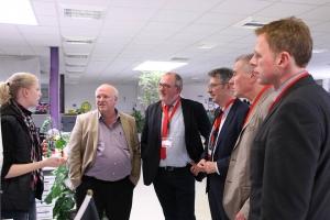 Achim Post und Ernst-Wilhelm Rahe führen Wirtschaftsgespräche
