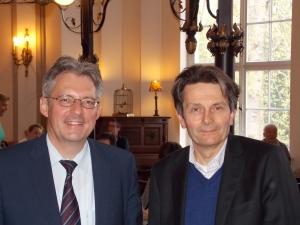 Achim Post und Dr. Rolf Mützenich