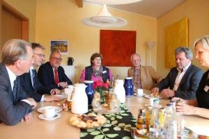 "Foto: Besuch des Hospiz ""Veritas"" in Lübbecke"