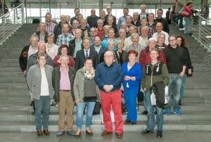 Mitglieder der Feuerwehren Minden-Lübbecke und des DRK Hille im Deutschen Bundestag Copyright: Arge GF-BT GbR