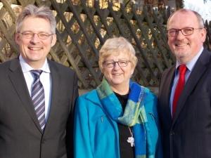 Achim Post Post, Inge Howe und Ernst-Wilhelm Rahe