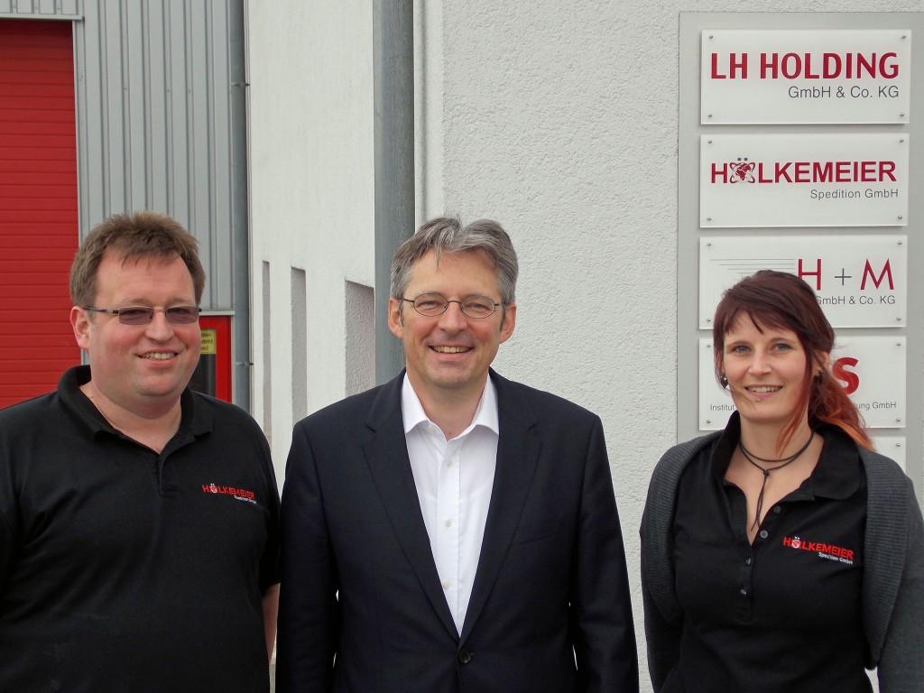 Lars Hölkemeier, Achim Post, Claudia Heuer
